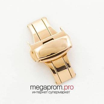 "Для годин застібка- "" метелик автомат Rate gold 18 мм, 20 мм, 22 мм (07363)"