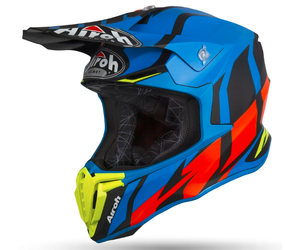 Шлем кроссовый Airoh Twist Great (Blue)