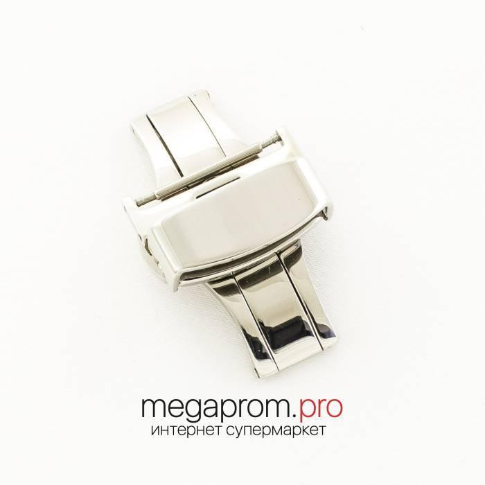 "Для годин застібка- "" метелик автомат Rate silver 18 мм, 20 мм, 22 мм (07465)"