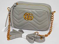 Сумка Gucci цвет серый, фото 1