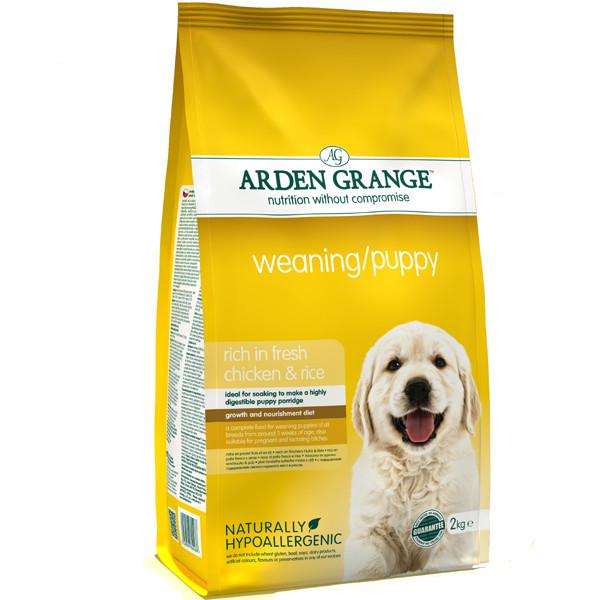 Arden Grange Weaning Puppy Корм для щенков с курицей и рисом