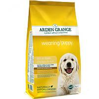 Arden Grange Weaning/Puppy chicken/rice Корм для щенков с курицей и рисом 2 кг