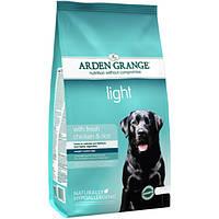 Arden Grange Light chicken/rice Корм сухой для взрослых собак диетический со свежей курицей и рисом 6 кг