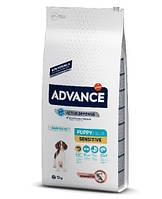 Advance Dog Puppy Sensitive Эдванс для щенков всех пород с чуствительным пищевариением