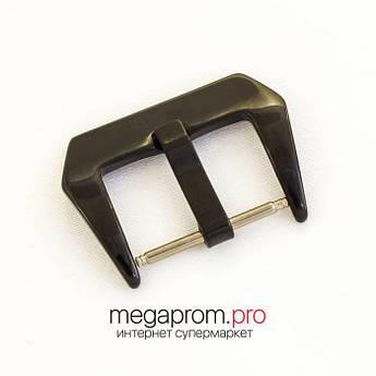 Для годин Застібка універсальна чорна глянсова 22   24   26 мм (07672)