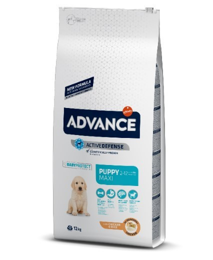 Эдванс для щенков макси пород Advance Maxi Puppy