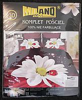 3D Постельное белье ТМ Милано (Milano Zone) полуторка Польша, фото 1