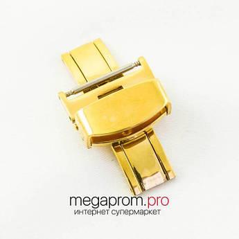 Для годин Застібка метелик жовте золото 20   22 мм (07729)