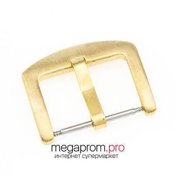 Пряжка/застібка для годин класична жовте золото (07940)