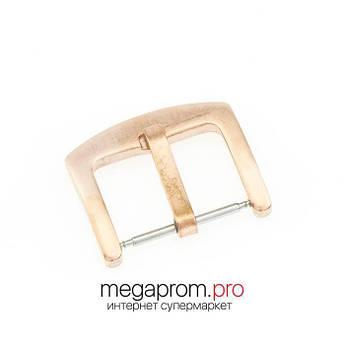 Пряжка/застібка для годин класична жовте золото (07941)