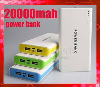 Внешний аккумулятор Зарядное Power Bank 20000 mA/h