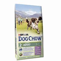 Dog Chow Adult Lamb для взрослых собак с ягненком, фото 1