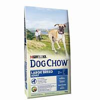 Dog Chow Adult Large (Дог Чау для крупных собак с индейкой), фото 1