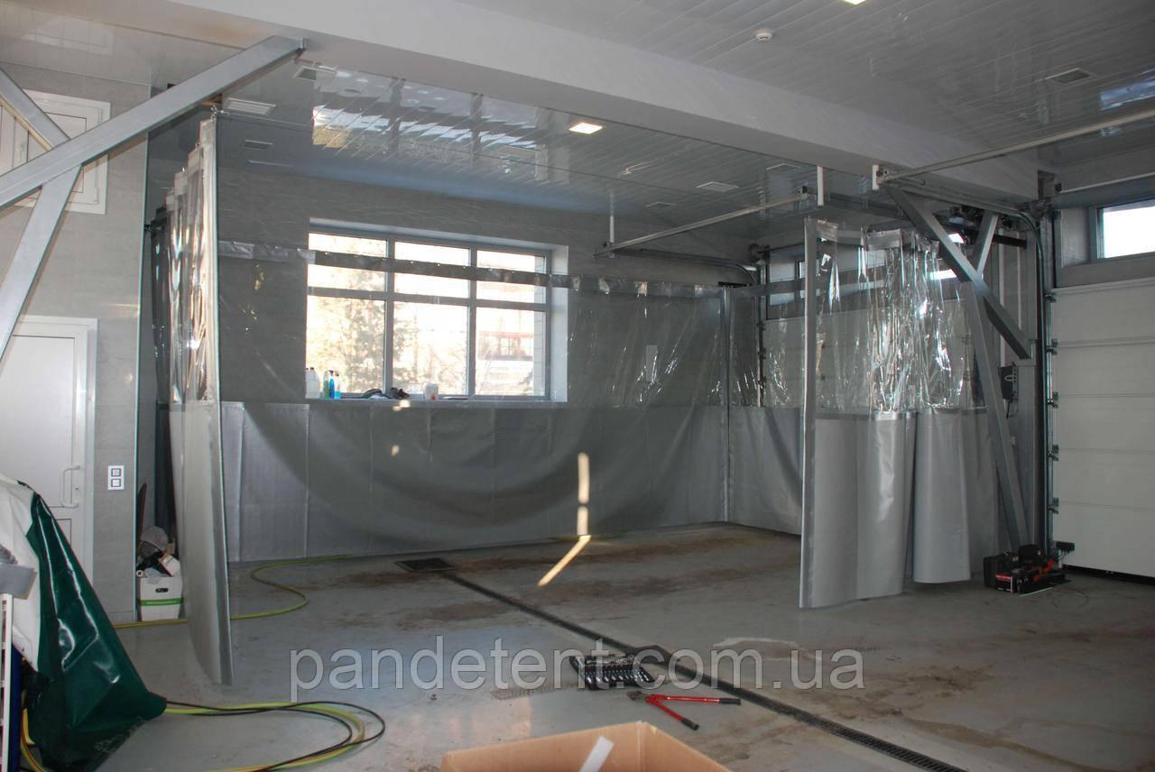 Шторы ПВХ для склада, цеха из водо- морозостойкой ткани ПВХ (Бельгия)