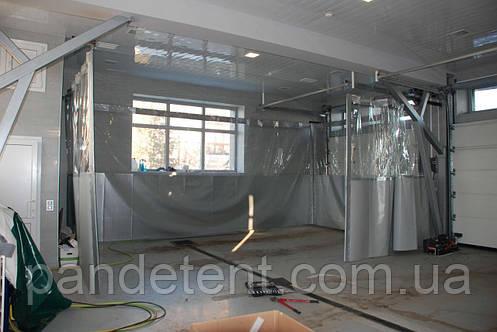 Шторы ПВХ для склада, цеха из водо- морозостойкой ткани ПВХ (Бельгия), фото 2