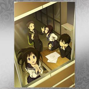 Плакат Аниме Hyouka 02