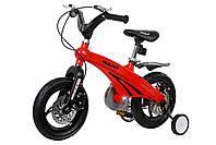 """Дитячий велосипед 12"""" MIQILONG MQL-GN червоний"""