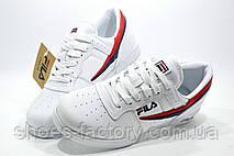 Белые кроссовки в стиле Fila F-13 White, фото 3