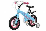 "Дитячий велосипед 12"" MIQILONG MQL-GN блакитний"