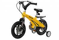 "Дитячий велосипед 12"" MIQILONG MQL-GN жовтий"