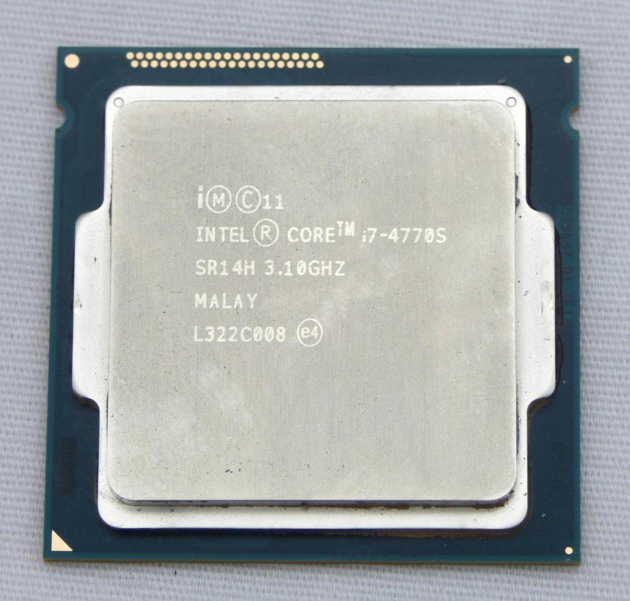 """Процессор Intel Core i7-4770S Socket 1150 Tray """"Over-Stock"""" Б/У"""