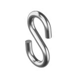 Крюк S-образный оцинкованный4.0 мм.