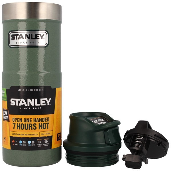 Термокружка Stanley® Classic One-Hand Vacuum Mug 16 Oz. V2.0