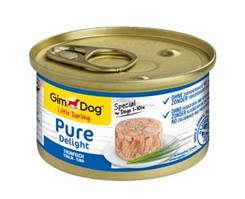 GimDog Little Darling Pure Delight Консервы для собак с тунцом