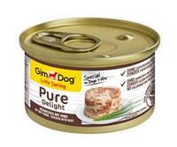 GimDog Little Darling Pure Delight Консервы для собак с курицей и говядиной