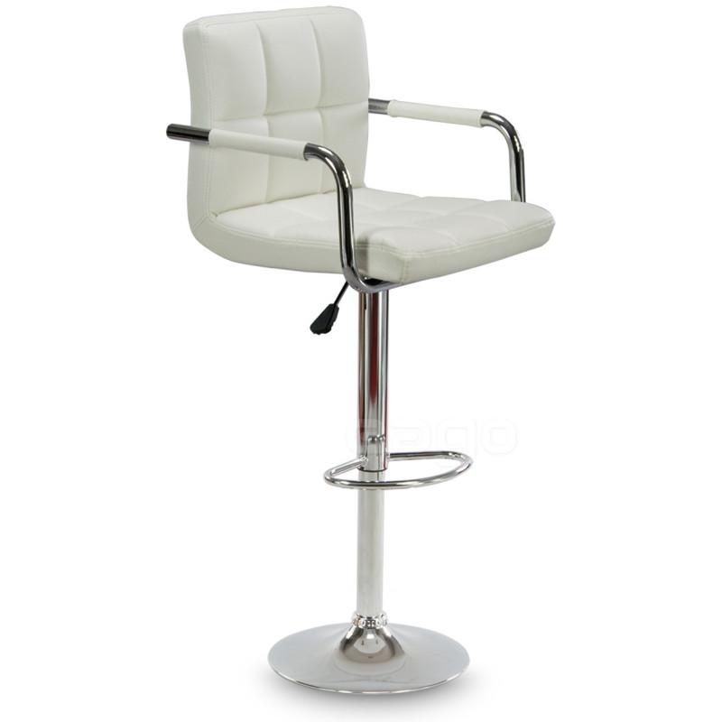 Барный стул Hoker ASTANA. Цвет белый.