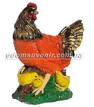 Садовая фигура Петух Петя, Наседка и Курица малая, фото 3