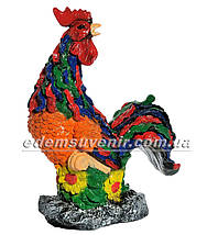 Садовая фигура Петух Петя и Курица малая, фото 3