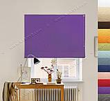 Римська штора Джусі Велюр фіолетовий лавандовий, фото 3