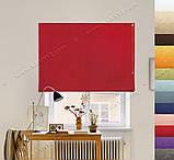 Римская штора Джуси Велюр красный, фото 3