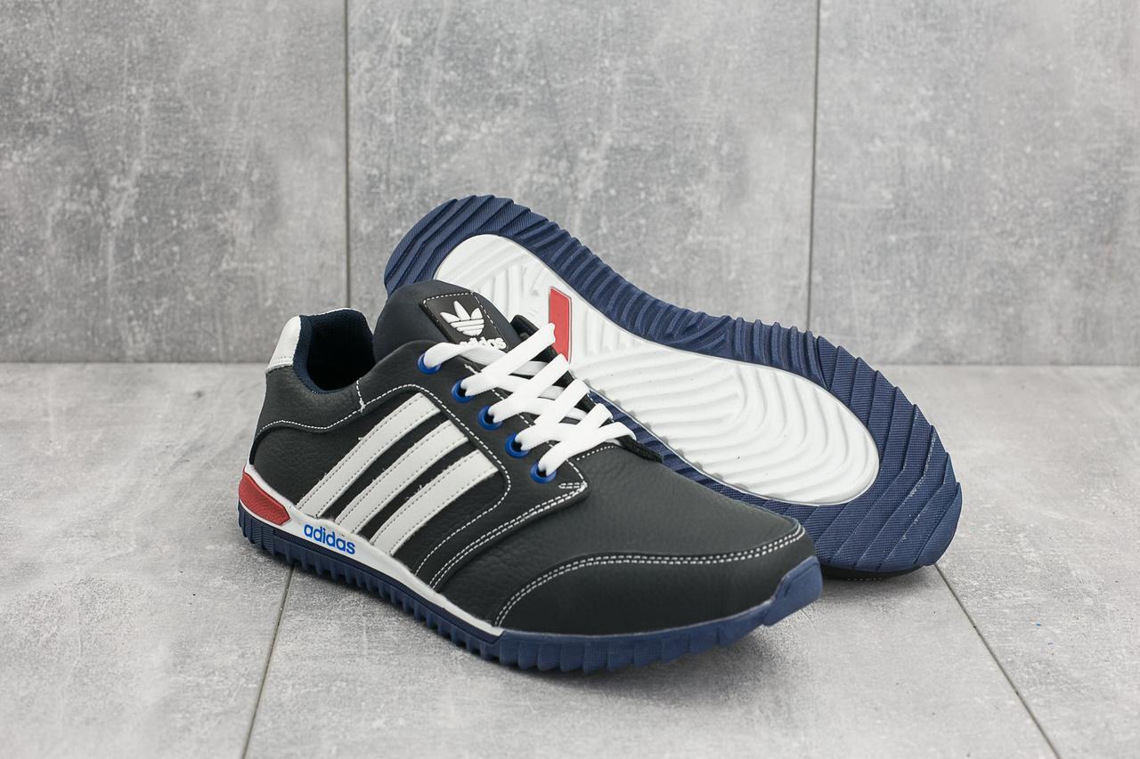 b1a93da8 Кроссовки мужские Adidas в стиле Адидас, натуральная кожа, текстиль код  OO-027SA-