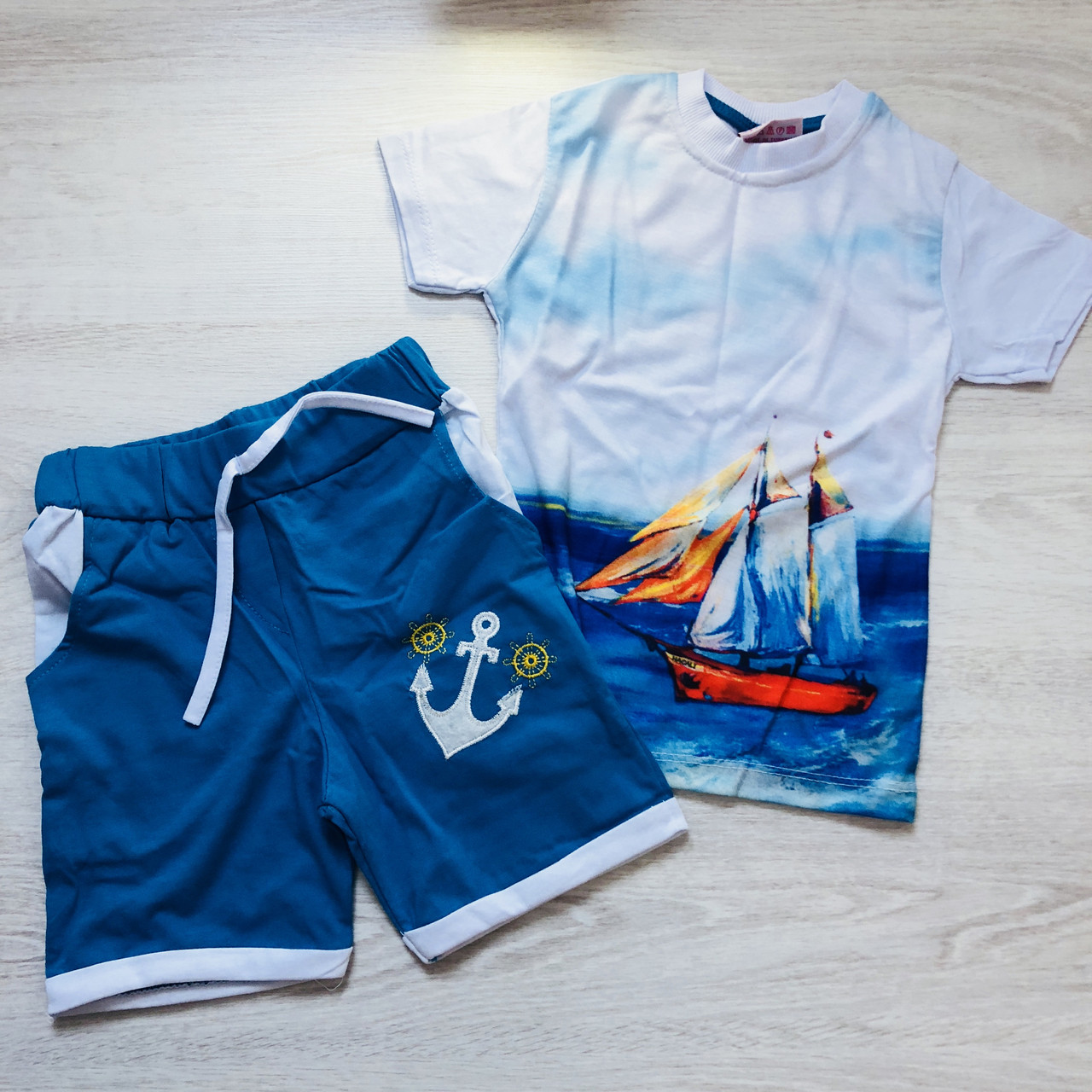 Футболка  и шорты  .(1-2 года)