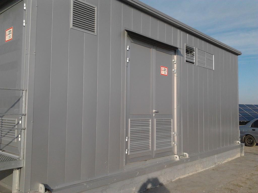 Модульная подстанция для солнечной электростанции 6