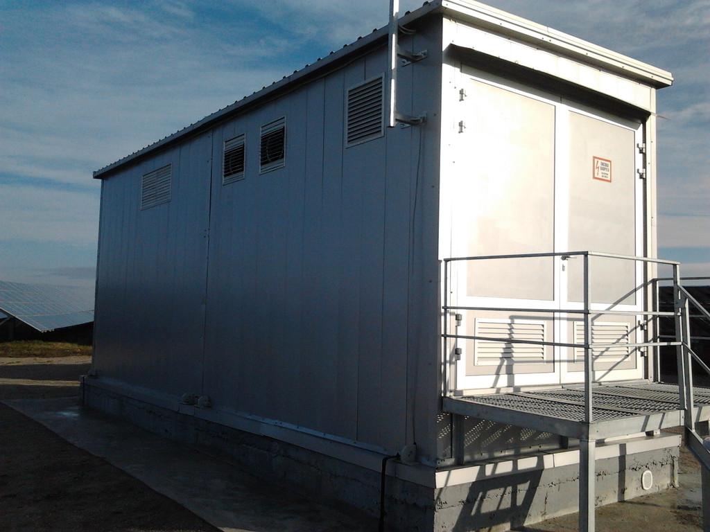 Модульная подстанция для солнечной электростанции 7