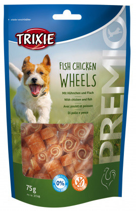 PREMIO Fish Chicken Wheels курица/рыба