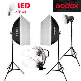 Godox LED TL4K257 экв.1,7kW комплект постоянного светодиодного света студийного