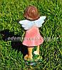 Садовая фигура Помощник Феи А, Помощник Феи Б и Фея садовая малая, фото 6