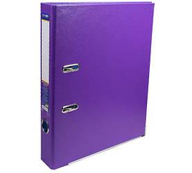 Папка реєстратор А4 Economix, 50 мм, фіолетова E39720 * -12