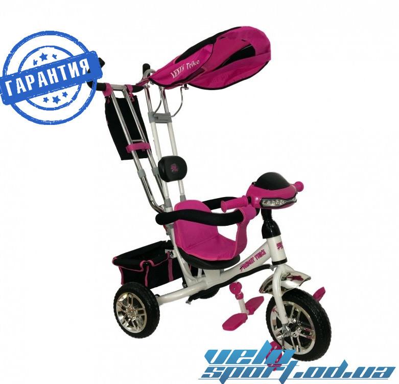 Детский трёхколесный велосипед Azimut BC-15B (Фара)