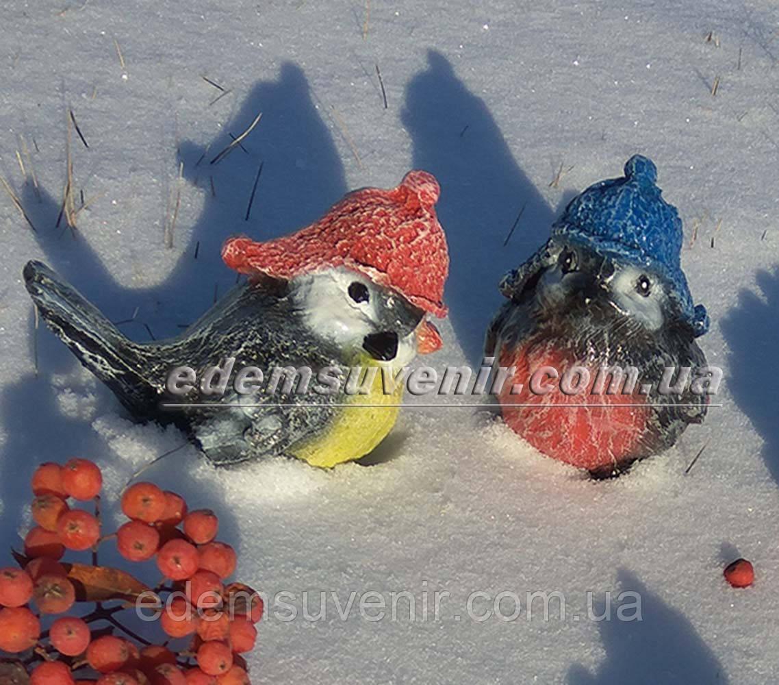 Садовая фигура Воробей зимний А и Воробей зимний Б