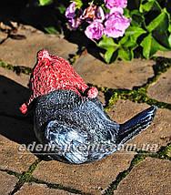 Садовая фигура Воробей зимний А и Воробей зимний Б, фото 3