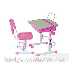 Ортопедическая детская парта  FunDesk Capri Pink