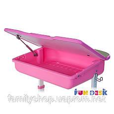 Ортопедическая детская парта  FunDesk Capri Pink, фото 3