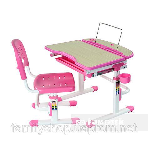 Детская парта со стульчиком FunDesk Sorriso Pink, фото 2