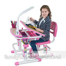 Детская парта со стульчиком FunDesk Sorriso Pink, фото 3