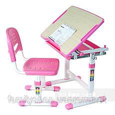 Комплект парта и стул-трансформеры FunDesk Piccolino Pink, фото 2